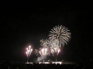 Grömitz in Flammen Feuerwerk