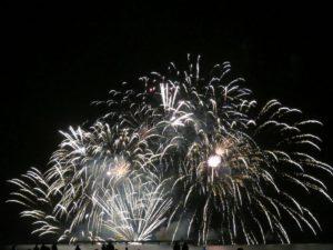Feuerwerk Ostsee in Flammen 2018 Grömitz