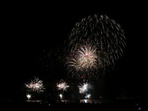 Ostsee in Flammen 2018 Grömitz Feuerwerk