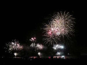 Ostsee in Flammen 2018 Feuerwerk