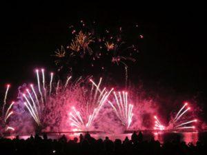 Feuerwerk Ostsee in Flammen