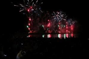 Ostsee in Flammen Grömitz Feuerwerk am 26.08.2016