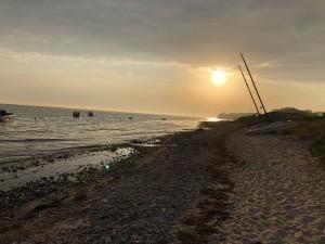 Ostsee Sonnenaufgang am Lindhöfter Strand an der Eckernförder Bucht