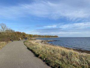 Herbstspaziergang an der Ostsee bei Strande