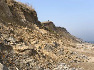 Ostsee Steilküste Stohl