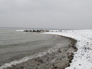 Winter an der Ostsee in Dänisch-Nienhof