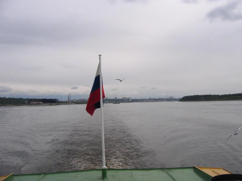 Fluss Kama in Perm