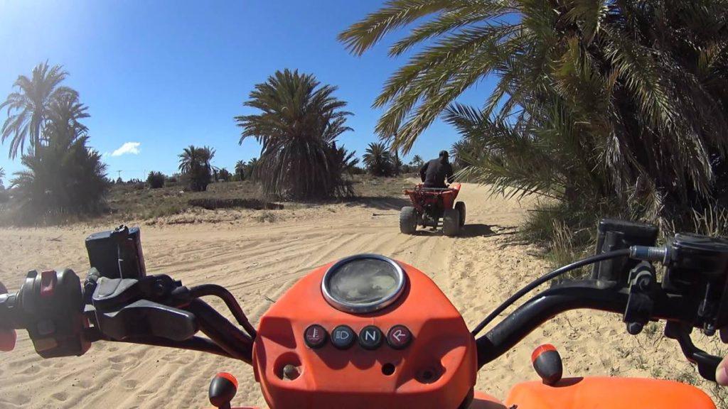 Quad Fahrt Djerba