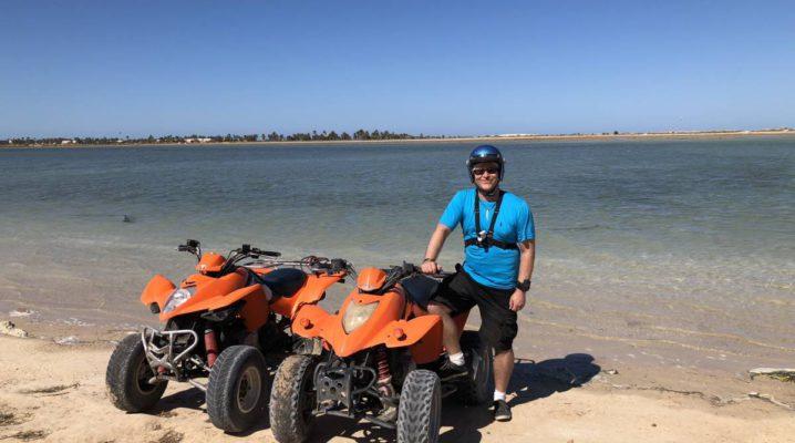 Quad Fahrt Djerba Tunesien