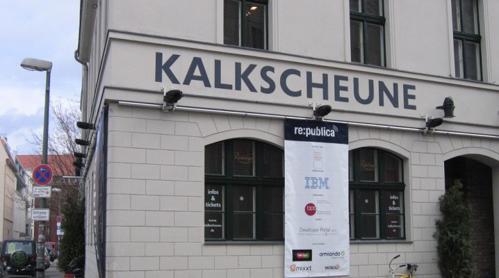 re:publica 2008 in der Kalkscheune Berlin