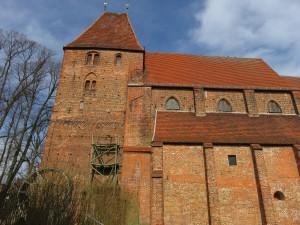 Seitenansicht Kloster Rehna in Mecklenburg-Vorpommern