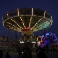 Rostock Kettenkarussell Weihnachtsrummel