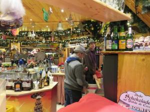 Glühweinstand Weihnachtsmarkt Rostock