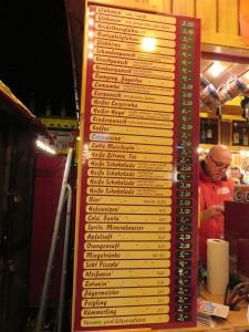 Rostocker Weihnachtsmarkt Glühweinpreise
