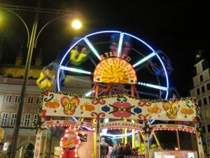 Wiener Sport Rad auf dem Rostocker Weihnachtsmarkt