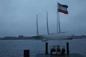 Sailing Yacht A / Segelyacht A in Kiel