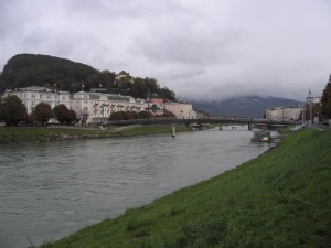 Salzach in Salzburg