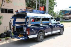 Sammeltaxi auf Koh Phangan