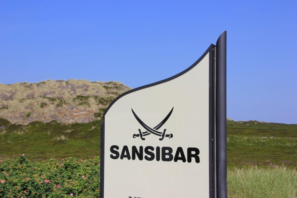 Sansibar Sylt Schild