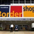 Eingangsbereich Scandlines BorderShop Puttgarden auf Fehmarn