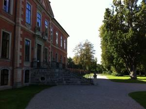 Nordfassade Schloss Bothmer und Schlossgarten