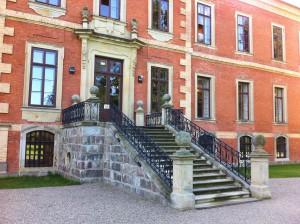Schloss Bothmer - Treppe zum Schlossgarten