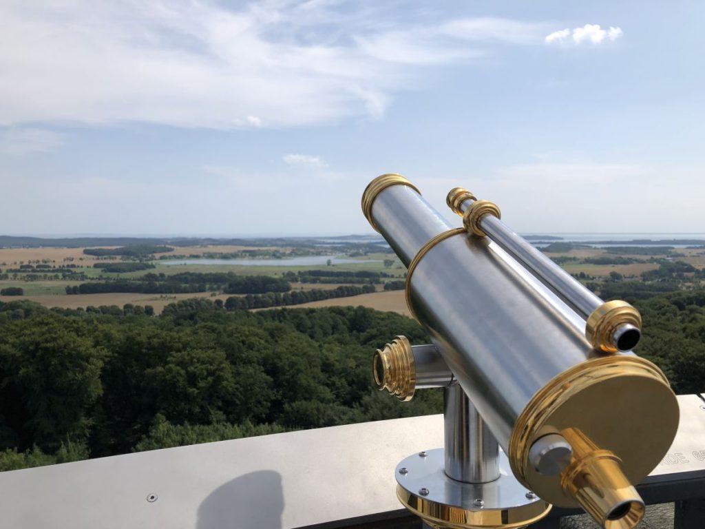 Schloss Granitz Ausblick Mittelturm