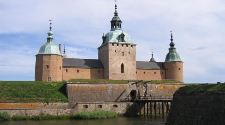 Schloss Kalmar in der schwedischen Stadt Kalmar an der Ostsee