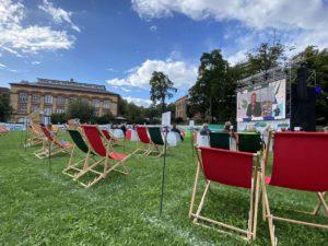 Schlossgarten Kiel Eröffnung Kieler Woche 2020 Live-Übertragung aus Schilksee