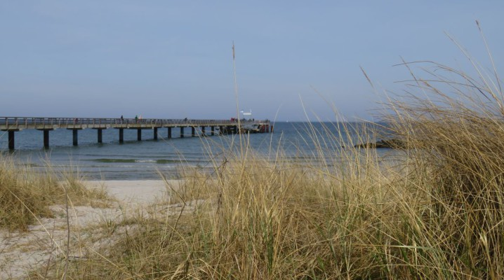 Schönberger Strand - Dünen und Seebrücke