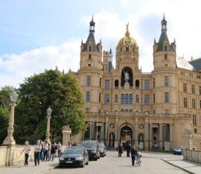 Schweriner Schloss Vorderansicht