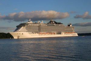 MSC Seaview Kreuzfahrtschiff Kiel