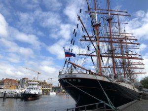 Sedov Segelschiff in Kiel