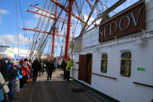 Segelschiff Sedov in Kiel