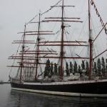 Segelschiff Sedov auf der Kieler Woche 2015 an der Hörn
