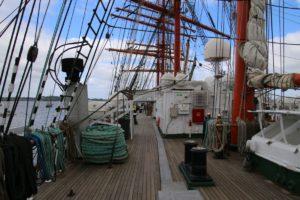Sedov Oberdeck Segelschiff