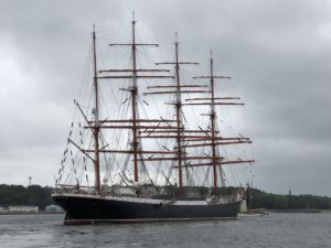 SEDOV Segelschiff in der Kieler Förde