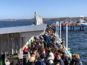 Seebad Kiel Düsternbrook Anbaden 2019