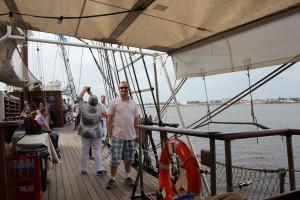 Auf der Atlantis zur Hanse Sail Rostock