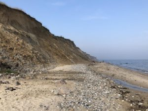 Steilküste Stohl Ostsee Naturstrand
