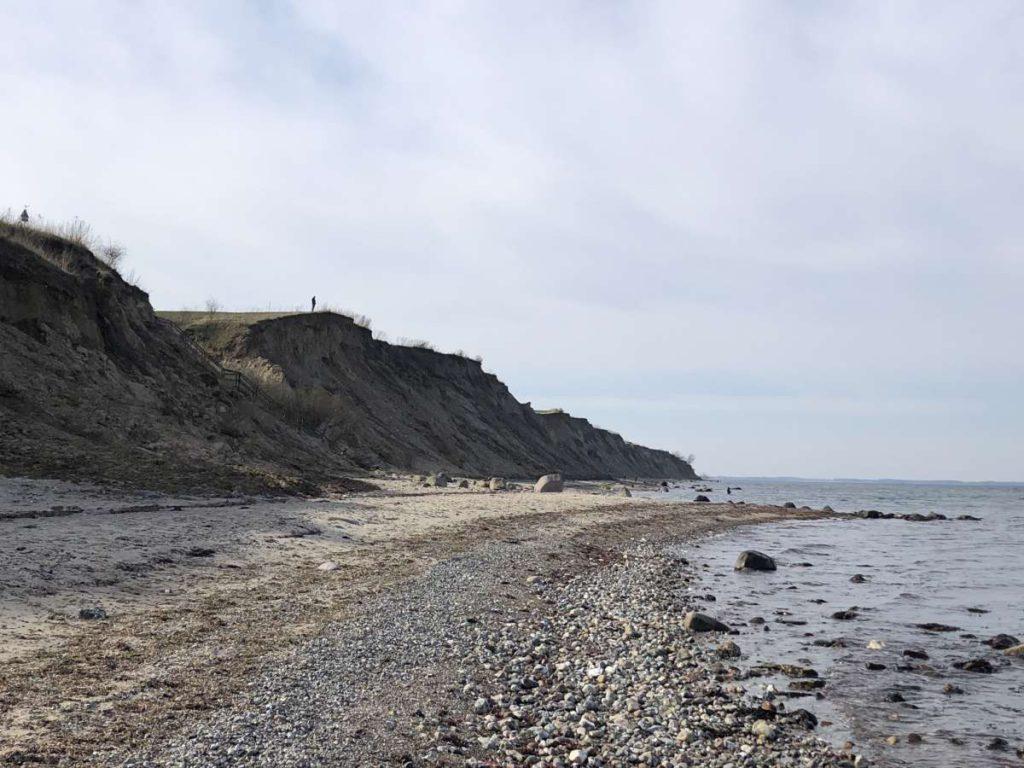 Steilküste Stohl Schleswig-Holstein