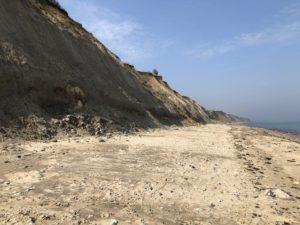 Strand Steilküste Stohl