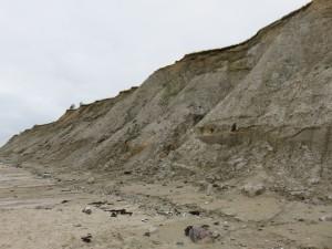 Steilküste Stohl an der Ostsee