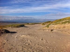 Hvide Sande Strand an der Nordsee