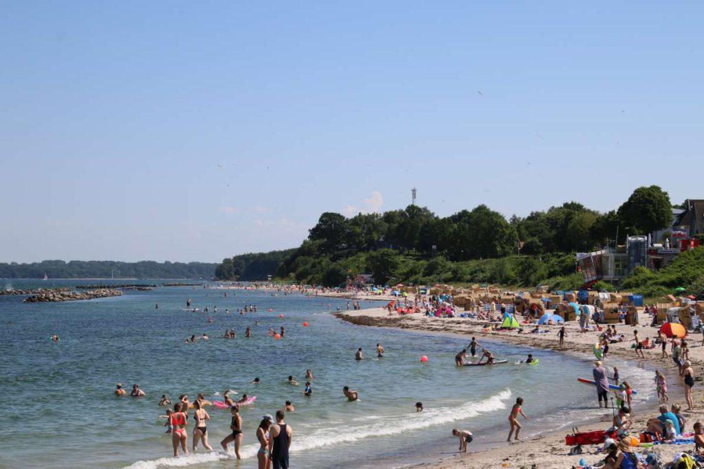 Strand in Kiel-Schilksee