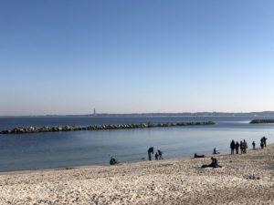 Strand Kiel-Schilksee an der Kieler Förde