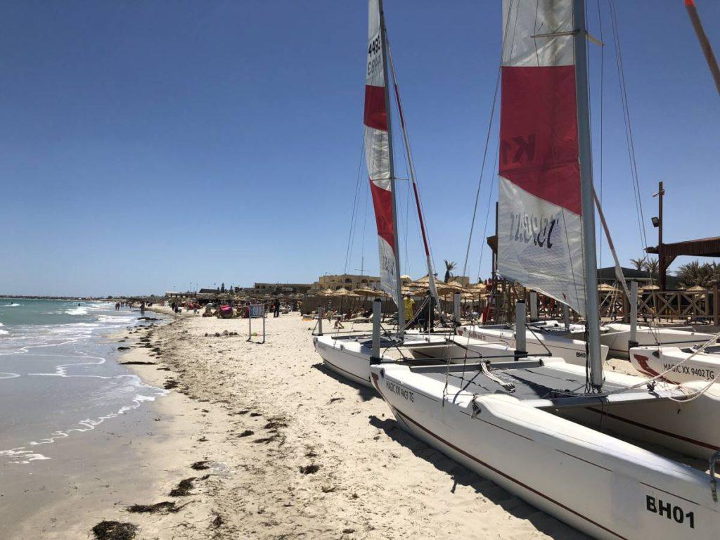 Mittelmeerstrand auf Djerba