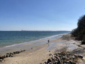 Strand Schilksee Steilküste