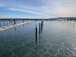 Hafen Ostseebad Strande Eis Liegeplätze