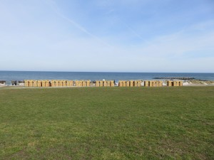 Strandkörbe am Schönberger Strand